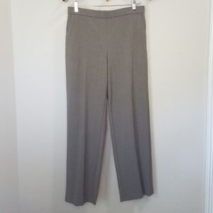 VTG High Waist taupe trousers 10 Petite